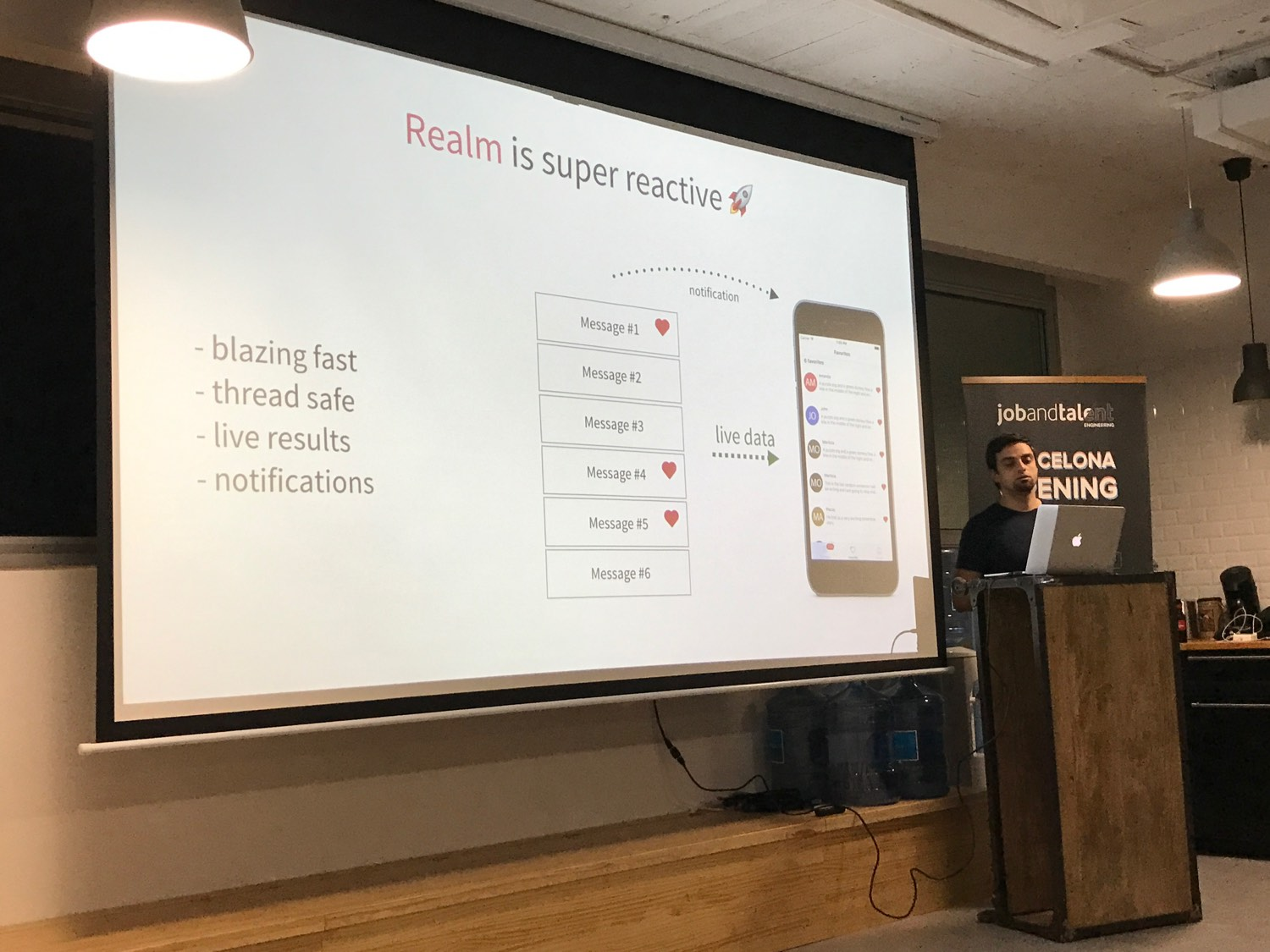 Building reactive apps with Realm