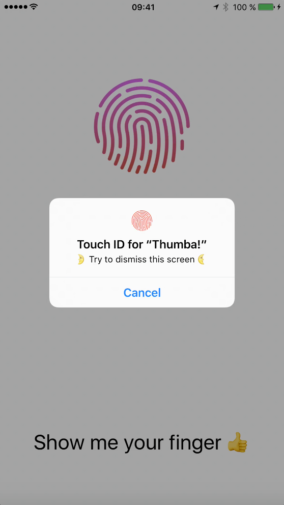 Touch ID Tutorial for Swift Dialog