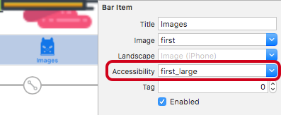 Vector Images Tutorial Tab Bar Accessibility