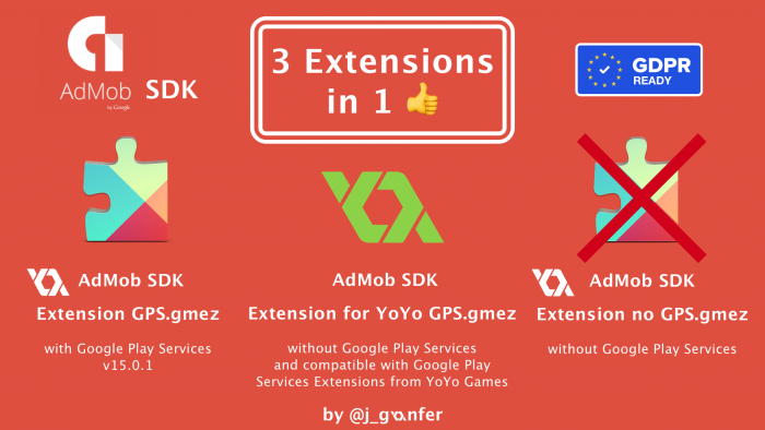 Firebase AdMob Extension 3 Extensions in 1
